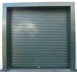 steel roller garge door by autoroll