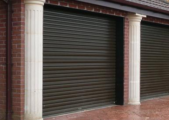 pvc coated steel garage doors