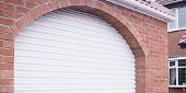 arch shaped garage