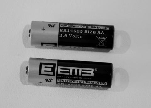 Lithium batteries 3.6v