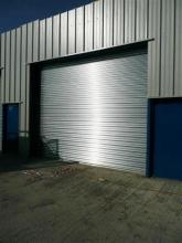 Galvanised Steel Electric Shutters Click For Information
